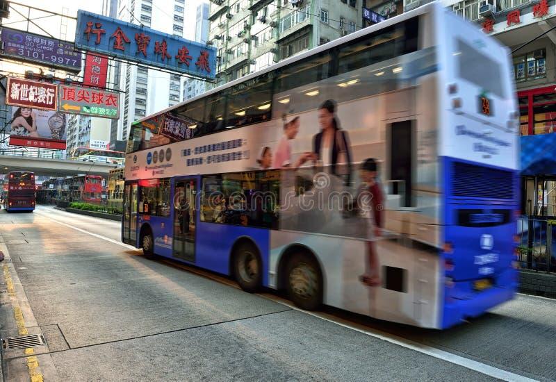 Hong Kong Bus immagini stock