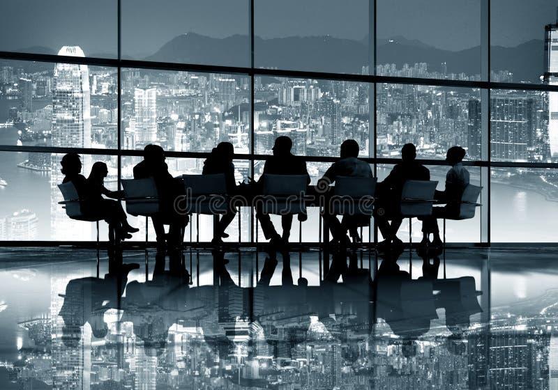 Hong Kong Business Meeting Concept imagen de archivo