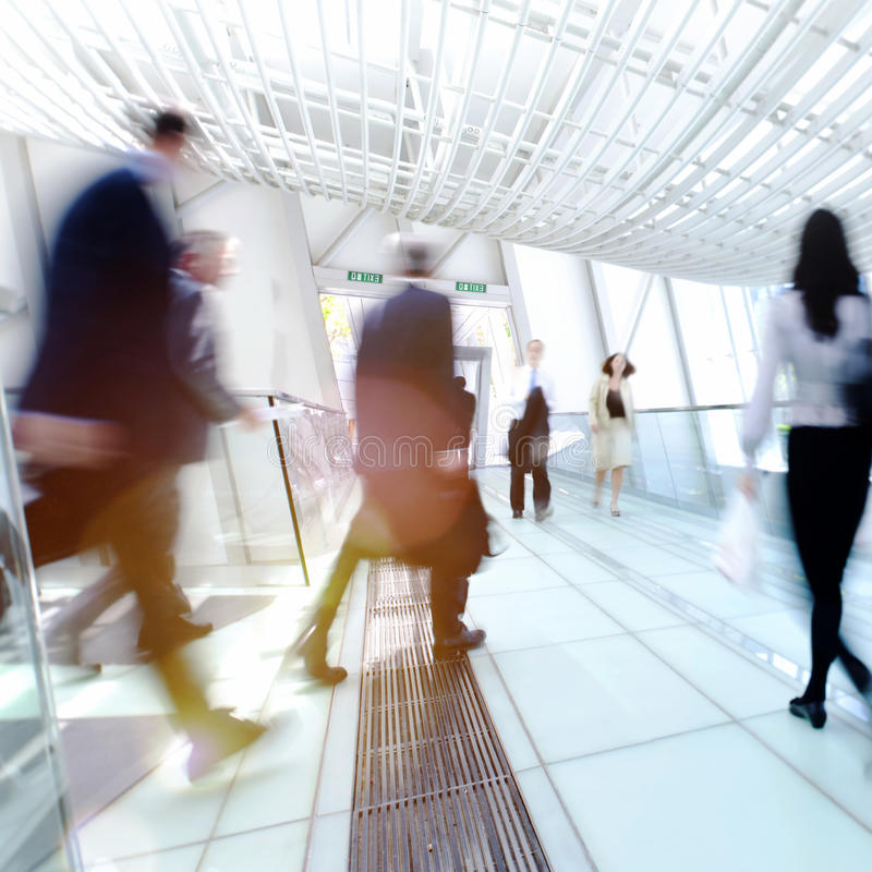 Hong Kong Business People Commuting Concept stock photography