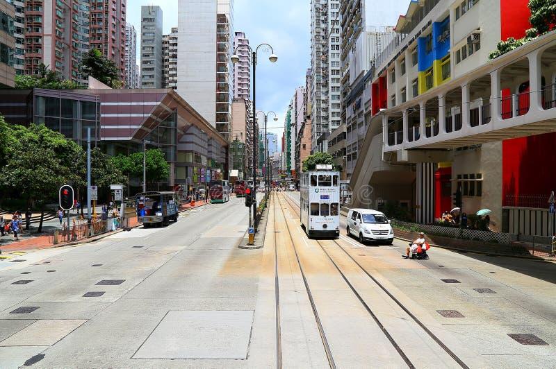 Hong-Kong céntrica: North Point fotos de archivo libres de regalías