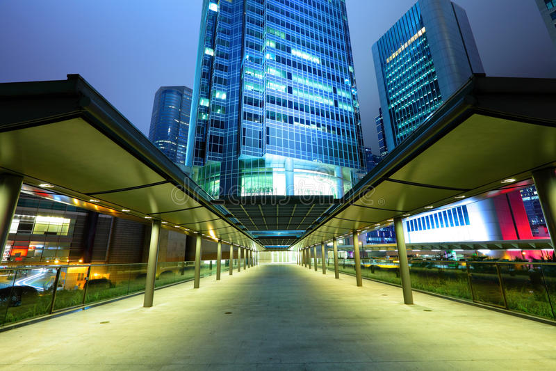 Hong Kong cbd stockfotografie