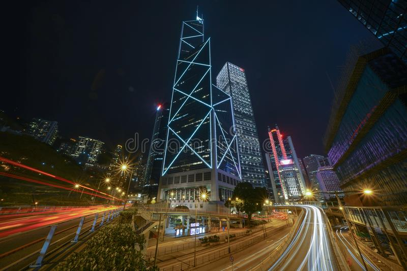 Hong Kong Central A7R2 Sony photo stock