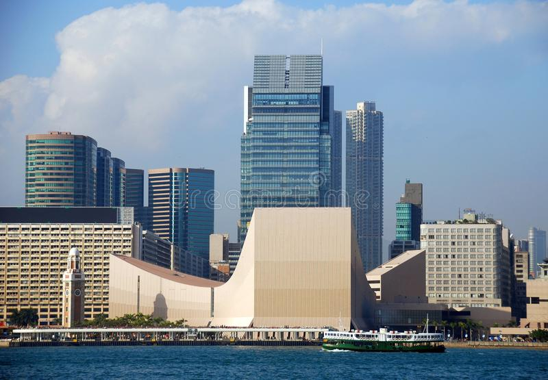 Hong-Kong: Centro cultural foto de archivo