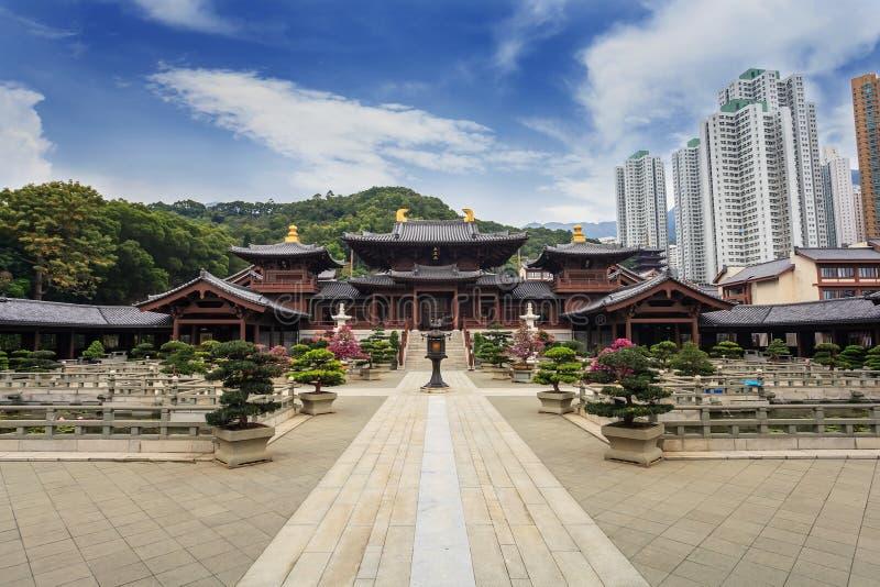 Chi Lin Nunnery - Hong Kong stock photo