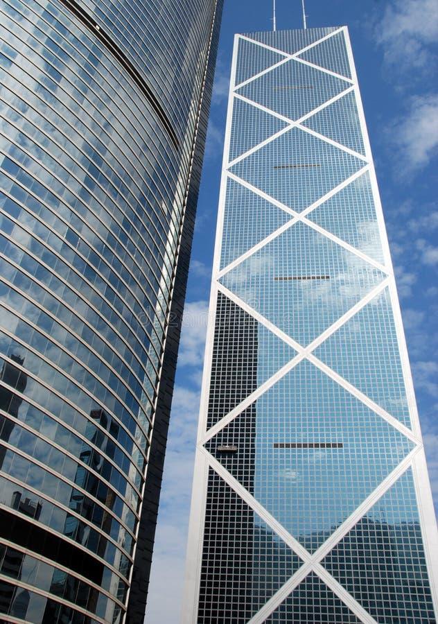 Hong Kong, China: Banco da China imagens de stock