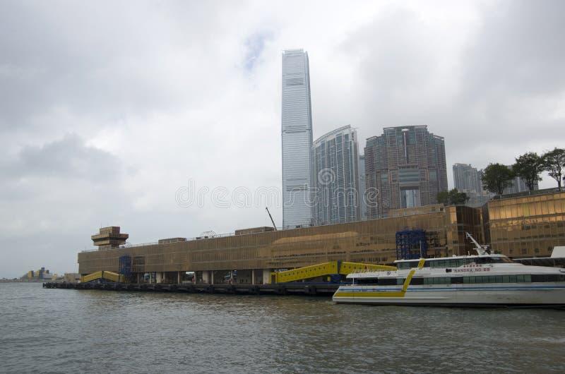 Hong Kong China Ferry Terminal Kowloon Hong Kong imágenes de archivo libres de regalías