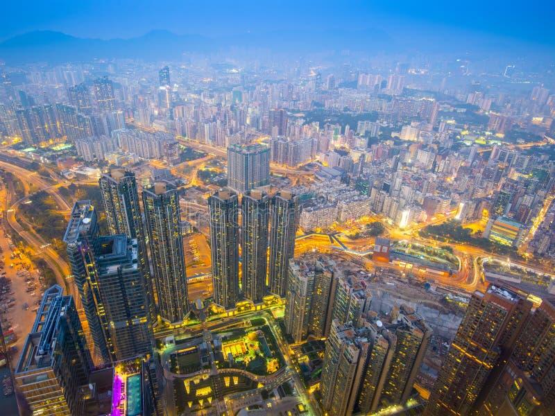 Hong Kong, China in Kowloon stock fotografie