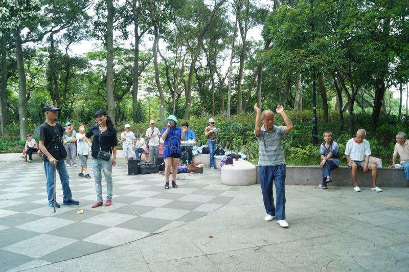 Hong Kong, Chine : Tuen Mun Park images stock