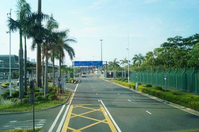 Hong Kong, Cina: Traffico stradale immagini stock