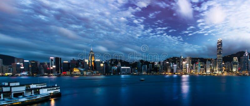 Hong Kong City Landscape stockbild