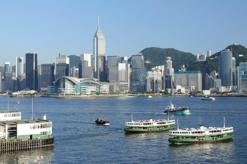 Hong Kong cityscape stock image