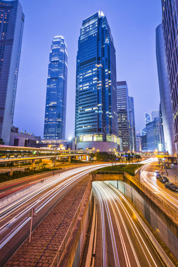 Download Hong Kong Cityscape stock photo. Image of hour, office - 36162612