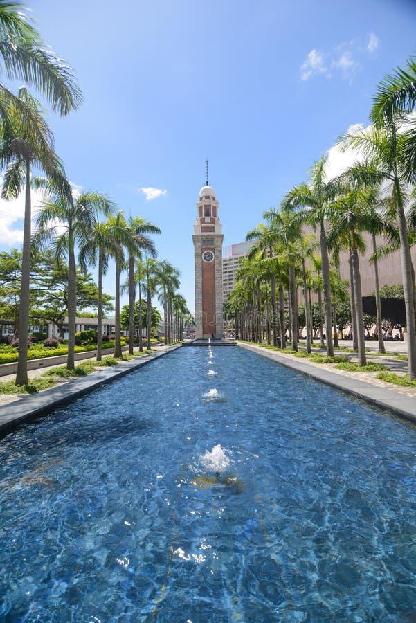 Download Hong Kong Clock Tower In Kowloon, Hong Kong, China. Editorial Stock Image - Image: 35442009