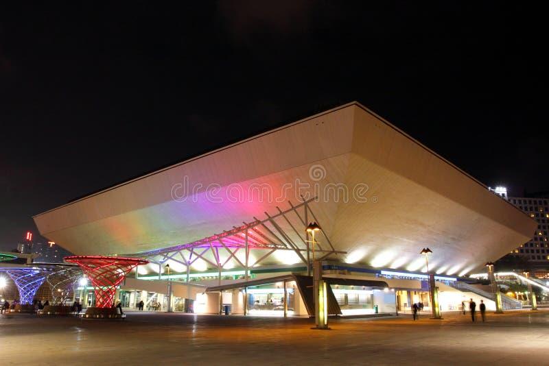Hong Kong Coliseum royalty free stock photos