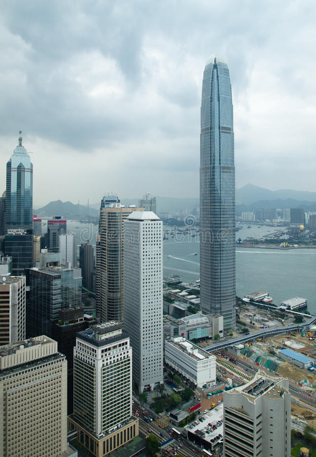 Download Hong Kong Commercial Buildings Stock Photo - Image: 20097386