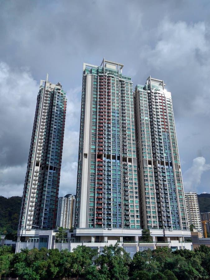 Hong Kong Condominium royalty free stock photography