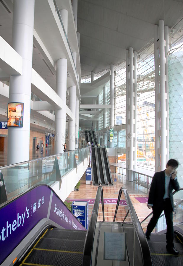 Hong Kong Convention And Exhibition Centre Editorial Image