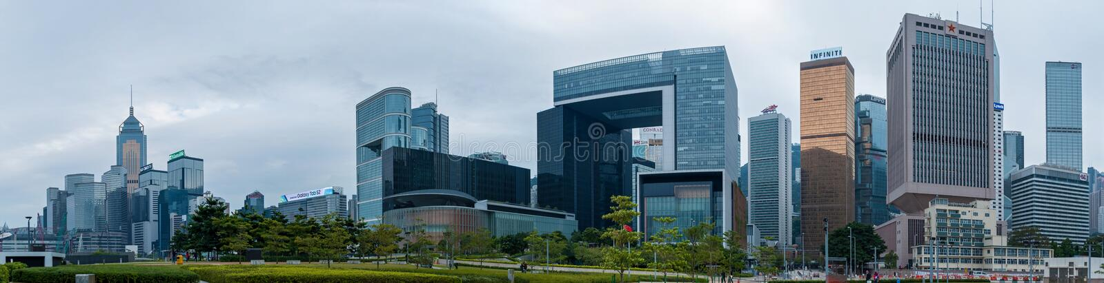 Hong Kong Corporate Buildings immagine stock