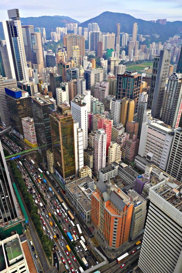 Download Hong Kong Crowded Buildings Stock Image - Image: 18213587