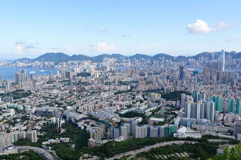 Download Hong Kong crowded city stock photo. Image of crowded - 22733170