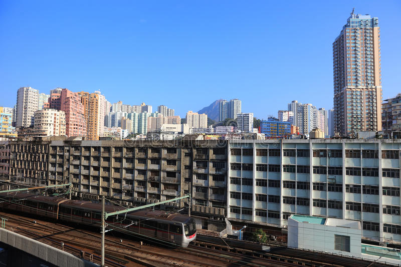 Hong Kong Day den Kwun tången distraherar arkivfoton