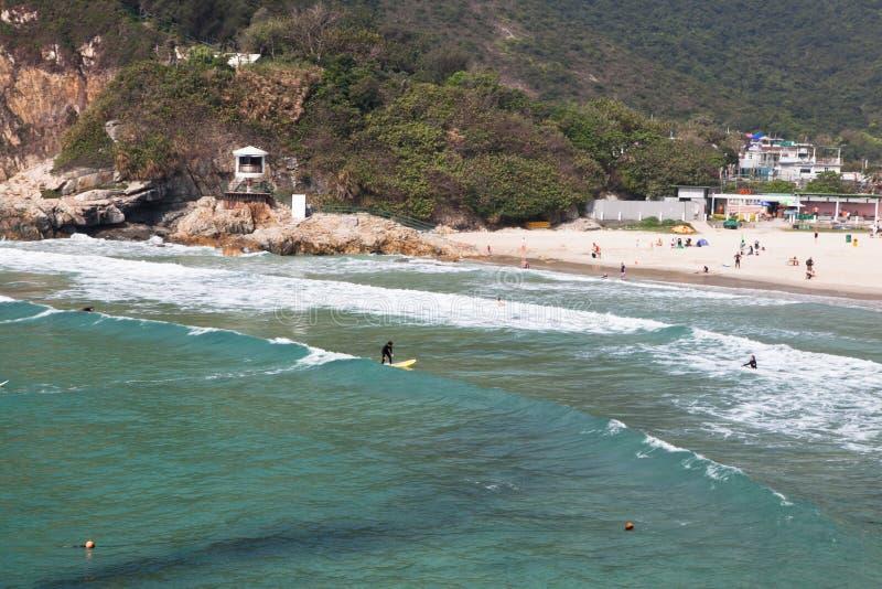 Praia macilento longa da TAI fotografia de stock royalty free