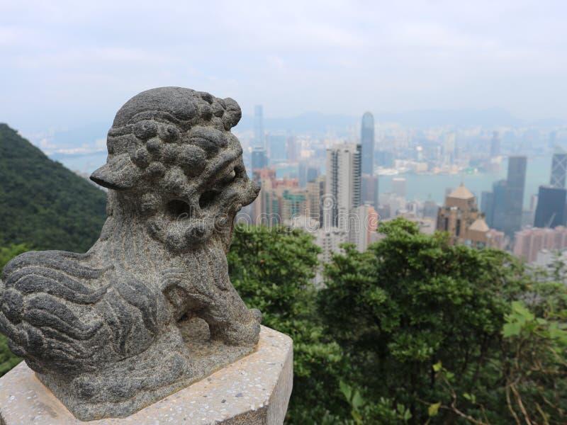 Hong Kong - de Mening royalty-vrije stock afbeeldingen