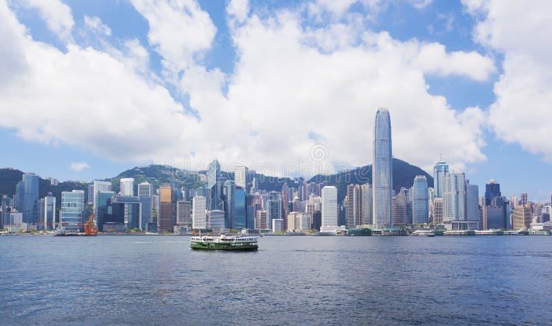 Hong Kong in der Tageszeit stockfotos