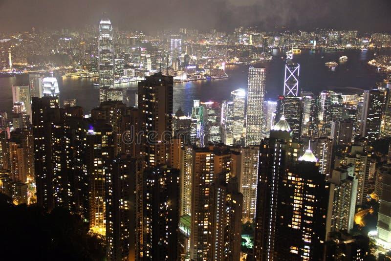 Hong Kong di stordimento fotografia stock libera da diritti