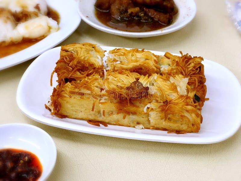 Hong Kong Dim Sum- - Mee-Sua Cake éºµç·šç ² ¿ lizenzfreie stockfotos