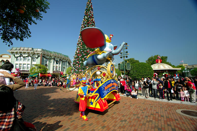Hong Kong Disneylâandia imagem de stock royalty free