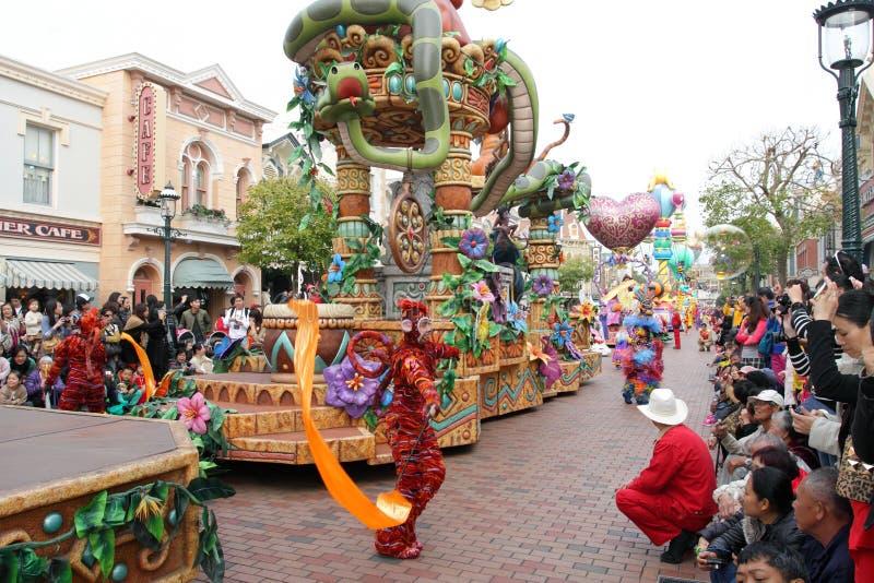 Hong Kong Disneyland royalty-vrije stock foto