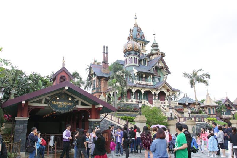 Hong Kong Disneyland stock afbeelding