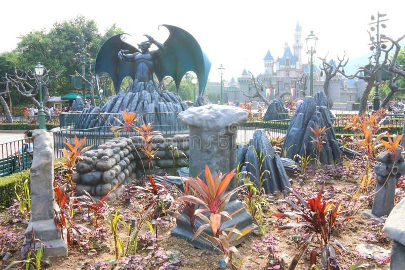 Hong Kong Disneyland royaltyfri bild