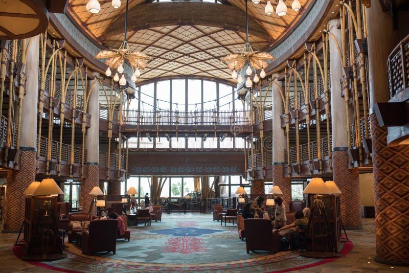 Hong Kong Disneyland Resort imagenes de archivo