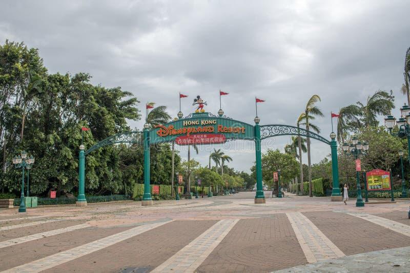 Hong Kong Disneyland Resort imagen de archivo