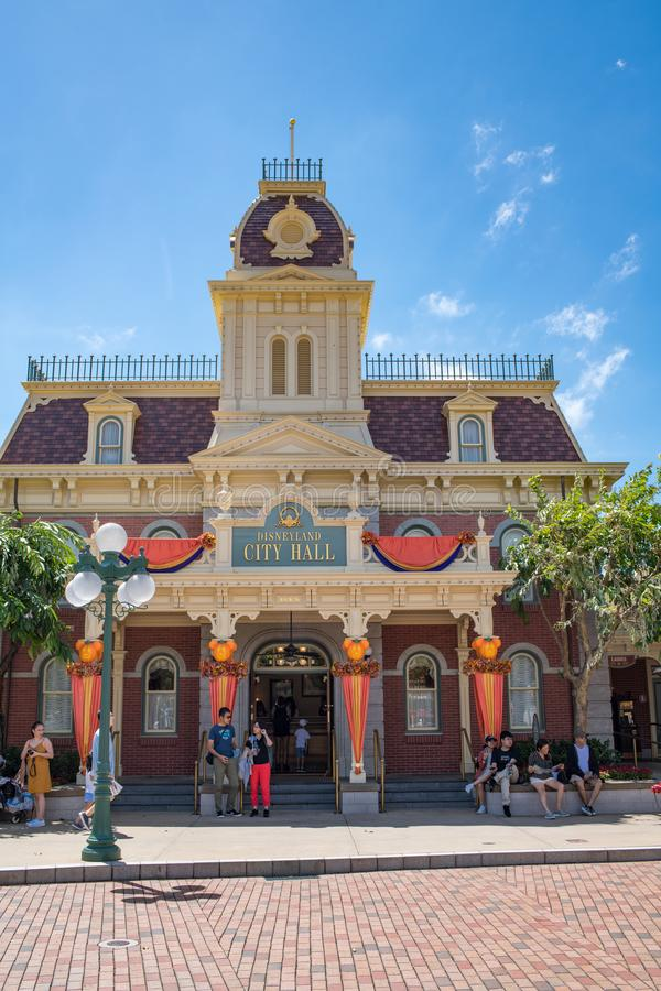 Hong Kong Disneyland Theme Park fotos de stock royalty free