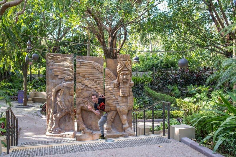 Hong Kong Disneyland Theme Park royaltyfria bilder