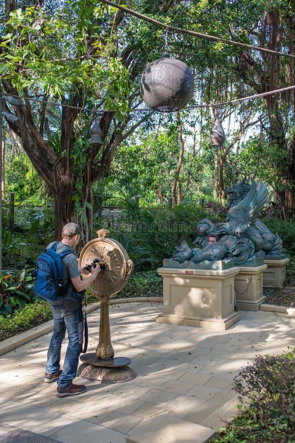 Hong Kong Disneyland Theme Park royaltyfria foton