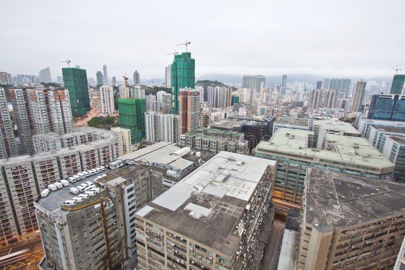 Hong Kong downtown at morning