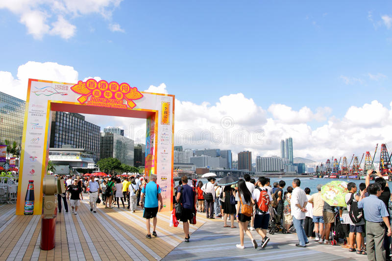 Download Hong Kong Dragon Boat Carnival 2012 Editorial Photography - Image: 25540622