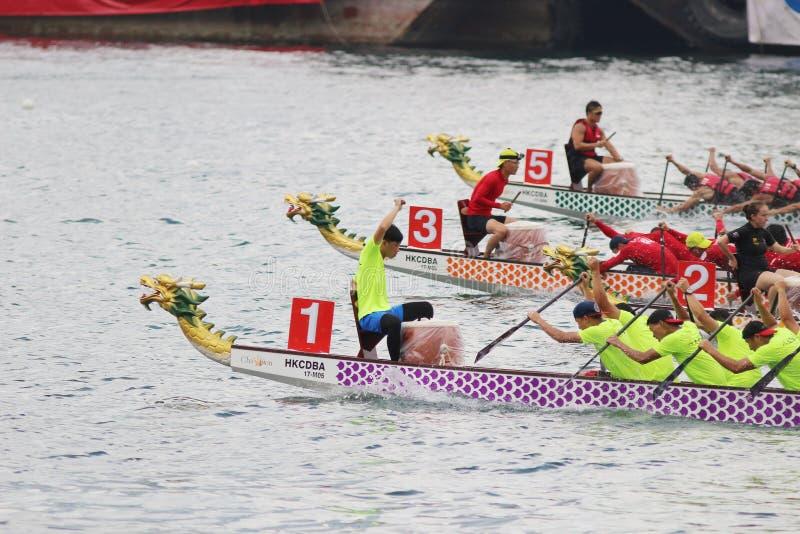 the Hong Kong Dragon Boat Carnival summer royalty free stock photos