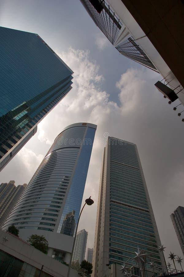 hong kong drapacze chmur zdjęcia stock