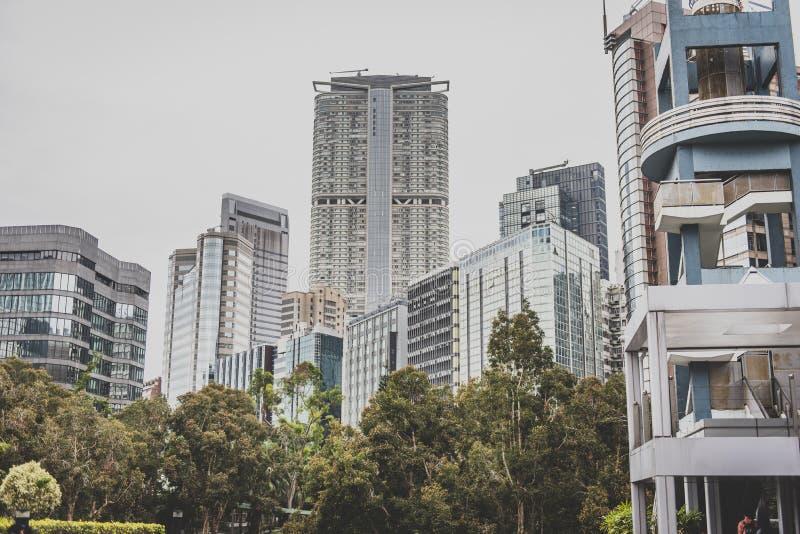 Hong Kong, em novembro de 2018 - cidade bonita imagem de stock royalty free