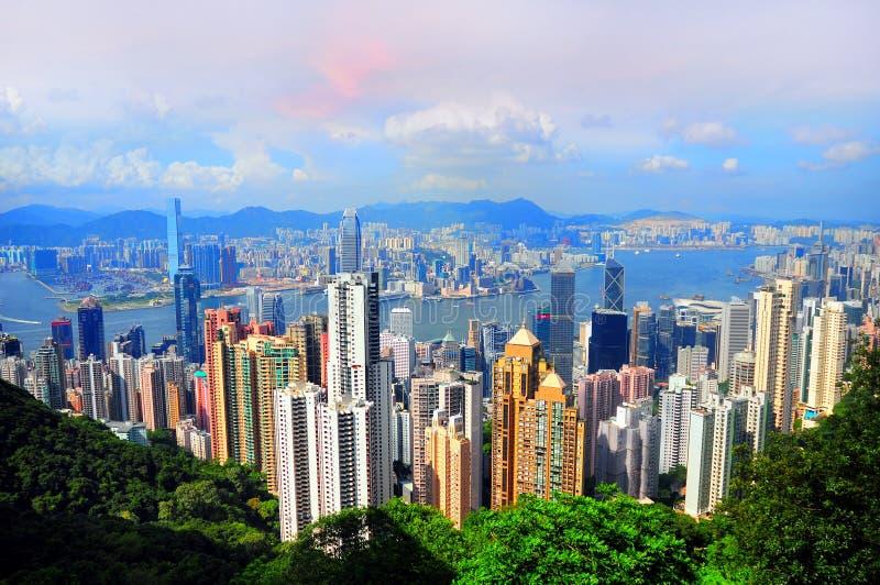 Hong Kong et Kowloon images libres de droits