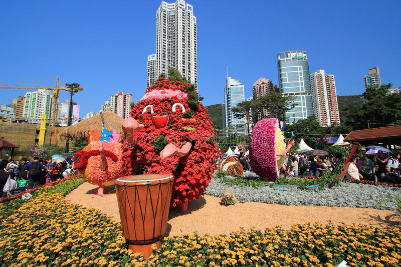 Download Hong Kong Flower Show 2012 editorial photo. Image of action - 35513586