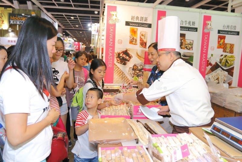Hong Kong Food Expo 2015 royaltyfri fotografi