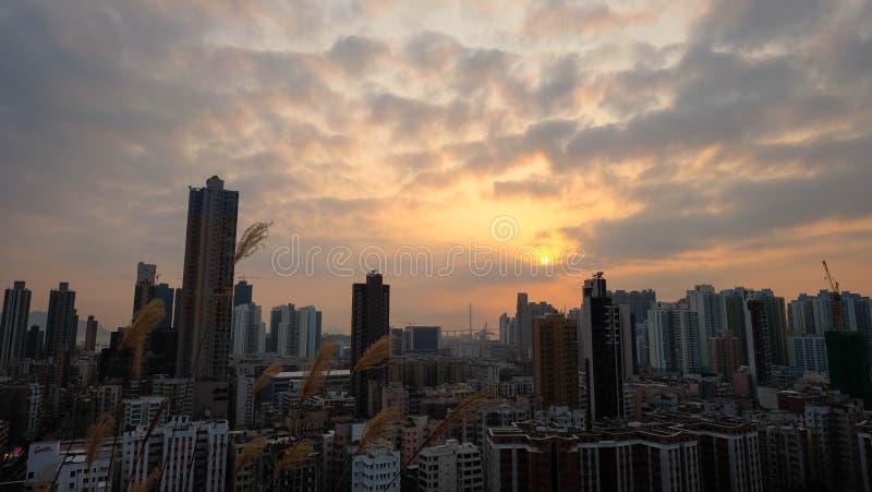 Hong Kong Garden Hill photos libres de droits