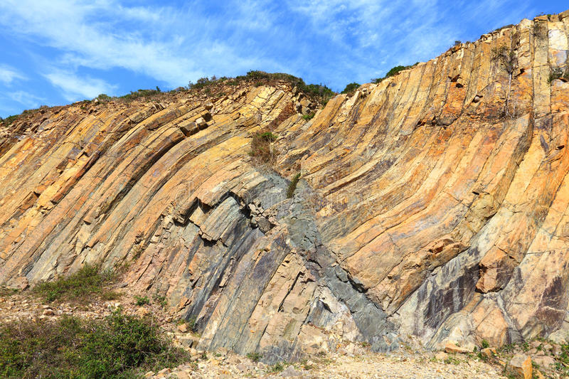 Hong Kong Geopark royalty-vrije stock afbeelding