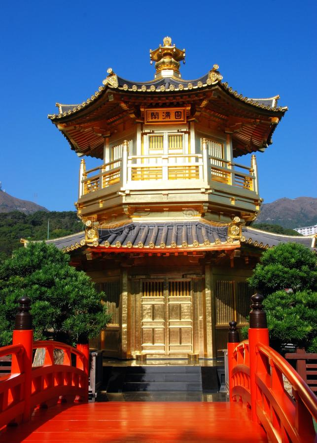 Download Hong Kong:  Golden Pavilion At Nan Lian Garden Stock Photos - Image: 14352333